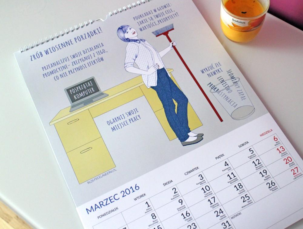 Kalendarz Freelancerki