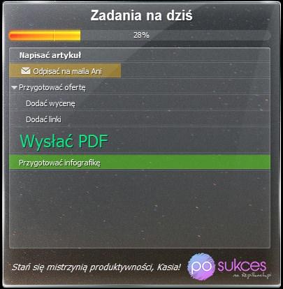 Aplikacja Todo
